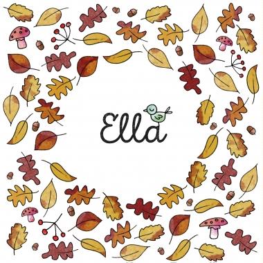 Herfstblaadjes - Ella