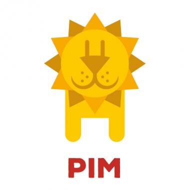 Geboortekaartje Pim met een leeuw