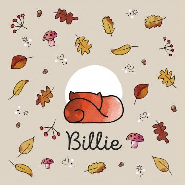 Herfstblaadjes - Billie