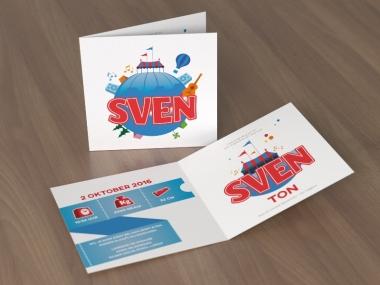 Geboortekaartje op maat - Sven