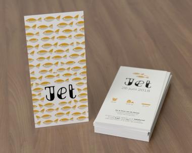 Geboortekaartje op maat - Jet
